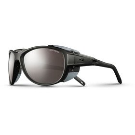 Julbo Explorer 2.0 Spectron 4 Gafas, matt black/gray-brown flash silver